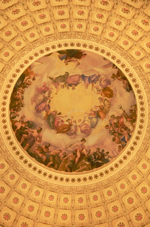 The Rotunda at U.S. Capitol