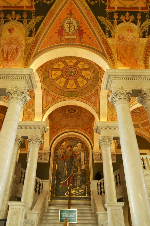 Entrance for Library of Congress Tour