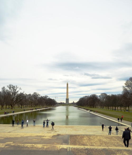 Washington Monument - View from Lincoln Memorial