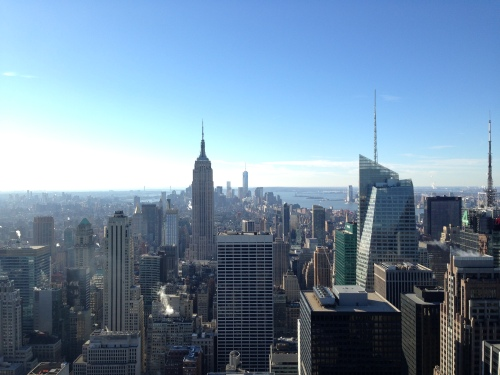 View from Top of The Rock #nofilter